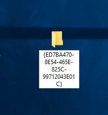 Windows 10 God mod 2